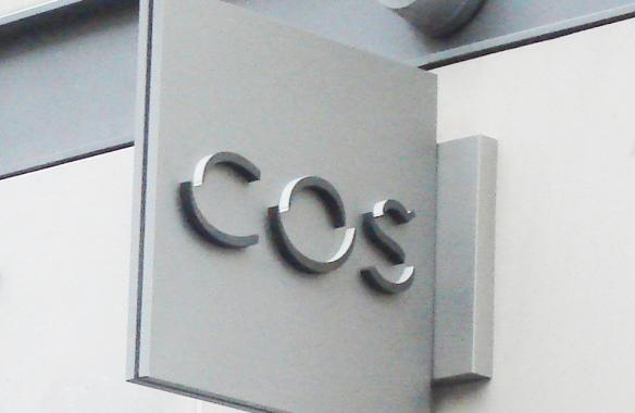 COS - Projecting Sign