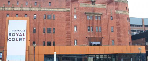 Royal Court Theatre Liverpool Corten Cladding