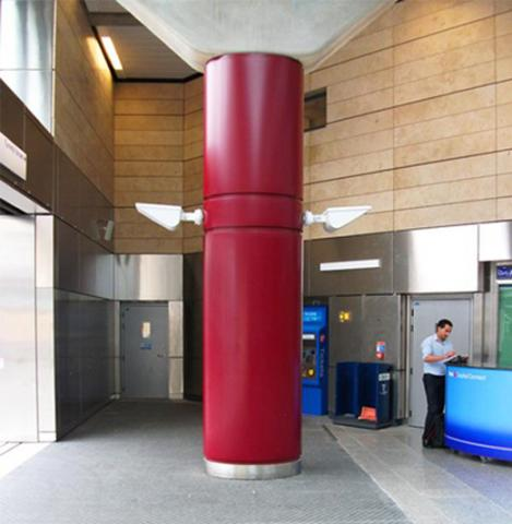 Column Cladding Stainless Steel Column Casings Nes