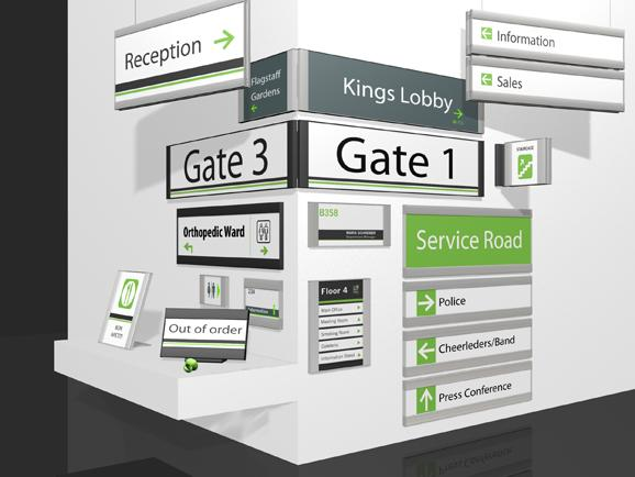 Wayfinding Systems Nes Solutions