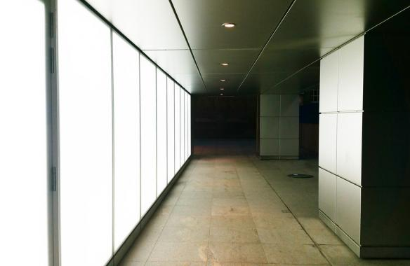 5 Broadgate UBS LED Light Wall