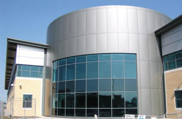 Broomfield Hospital - Aluminium Composite Material Cladding
