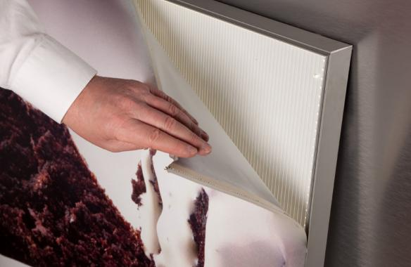 Fabric LED Light Box