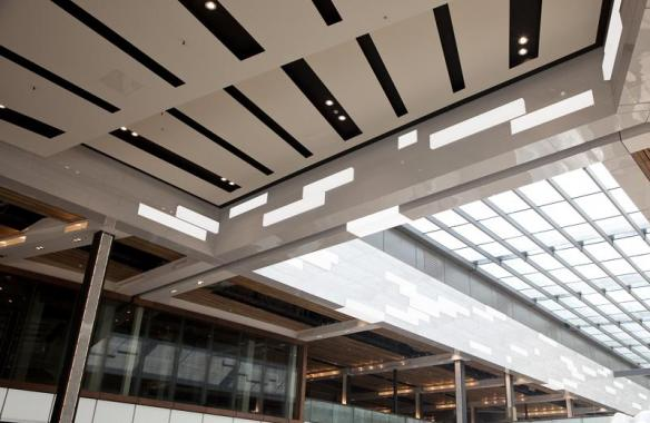 LED Feature Lighting - Westfield Statford - LED Light Panels