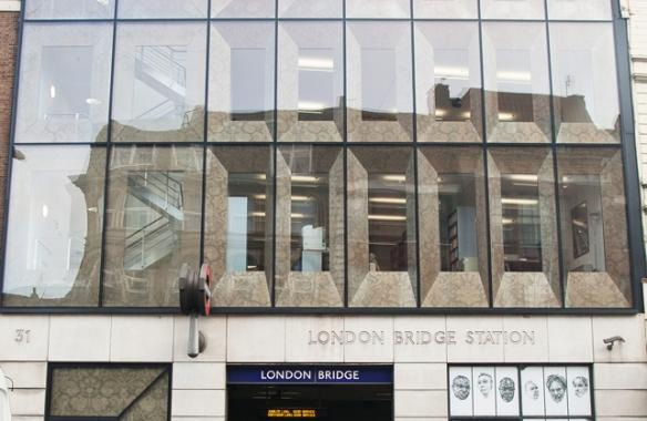 Borough High Street, Anodised Perforated Window Reveals